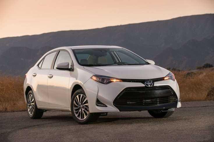 Toyota Corolla 2017 года выпуска