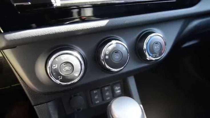 Управление печкой на Toyota Corolla