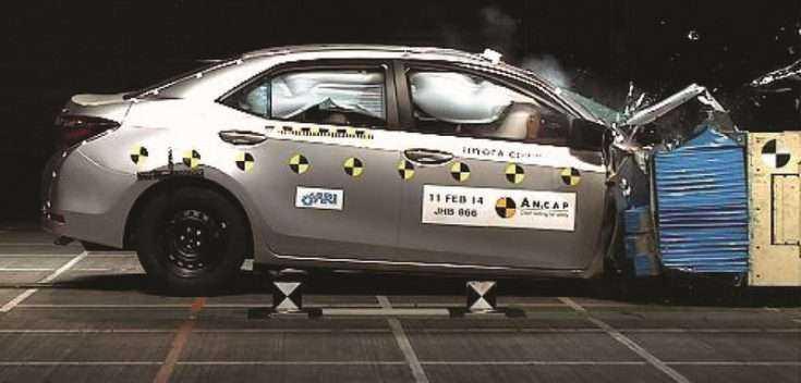 Краш тест Toyota Corolla ANCAP