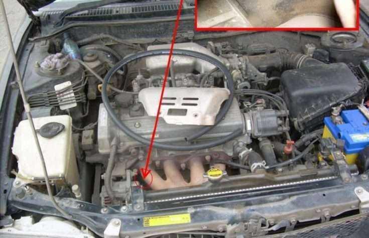 Процесс установки подогрева двигателя на Тойота Королла