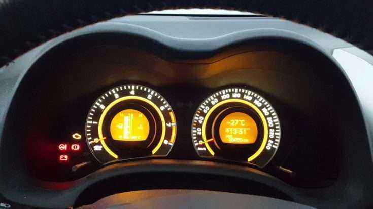 Запуск двигателя зимой Toyota Corolla