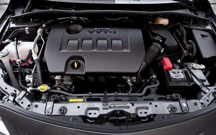 Фото двигателя Toyota Corolla 2013