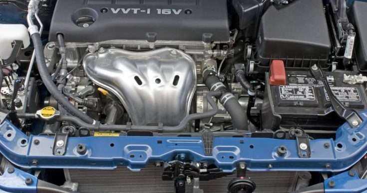 Фото двигателя Toyota Corolla