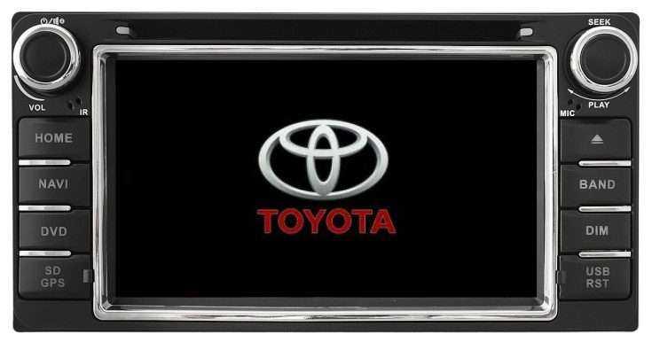 Штатная магнитола Toyota