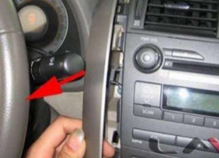 Как демонтировать магнитолу